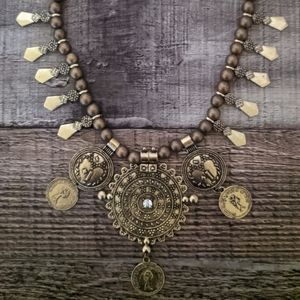 Ultimate Bohemian Gypsy Coin Necklace